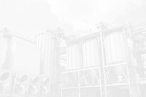 Silos d'une entreprise industrielle
